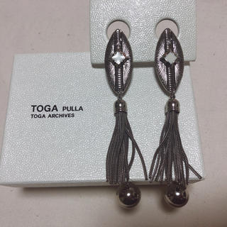 TOGA - TOGA メタルフリンジイヤリング