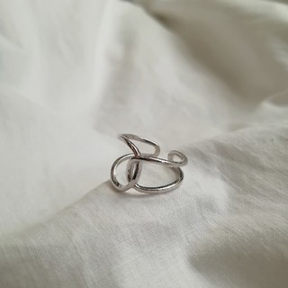 Ungrid - 【NEW】925 double knot ring *