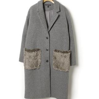 ZARA - ZARAファーポケットコート