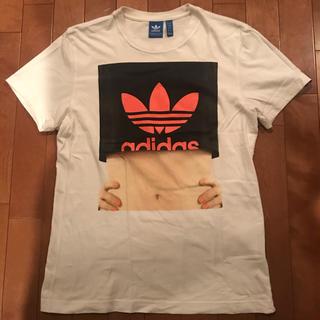 アディダス adidas Tシャツ(Tシャツ/カットソー(半袖/袖なし))