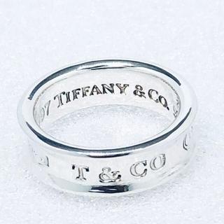 ティファニー(Tiffany & Co.)の☆新品☆未使用☆ティファニー 1837ロゴリング 9号(リング(指輪))