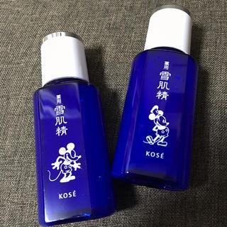 セッキセイ(雪肌精)の【新品】薬用 雪肌精 ディズニーボトル 75ml 2本セット マスク付(化粧水 / ローション)