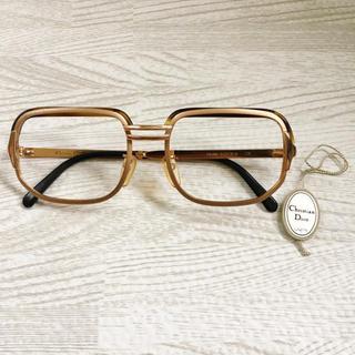 クリスチャンディオール(Christian Dior)のディオール デッドストック メガネフレーム(サングラス/メガネ)