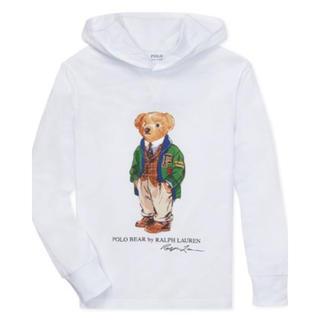 POLO RALPH LAUREN - ★POLO BEAR ★ポロベアフーデッドTシャツM/150