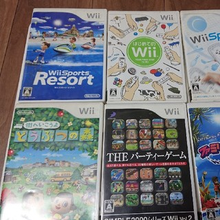 Wii - Wii ソフト六点セット 送料込み