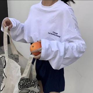 dholic -  【少数入荷!!】ルーズロングスリーブTシャツ ロングスリーブカットソー