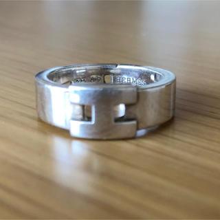エルメス(Hermes)の美品エルメス  H リング(リング(指輪))
