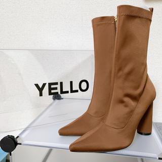 イエロー(yellaw)のyellow イエロー  BROWN SUGER SHORT ブーツ(ブーツ)