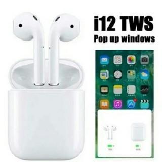 アイフォーン(iPhone)のi12 ワイヤレスイヤホン Bluetooth(ヘッドフォン/イヤフォン)