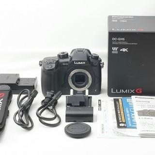Panasonic - 新品パナソニック Panasonic LUMIX DC-GH5 ボディ付属品完備