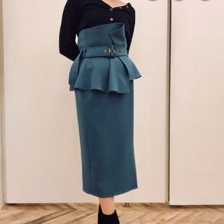 snidel - 正規品 ハイウエストポンチタイトスカート