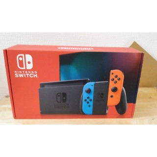 Nintendo Switch - Nintendo Switch ネオンブルー/ネオンレッド 未開封品 送料無料