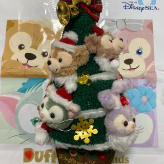 Disney - 新品 ダッフィー ツリー ウィンターホリデー クリスマスツリー ディズニーシー