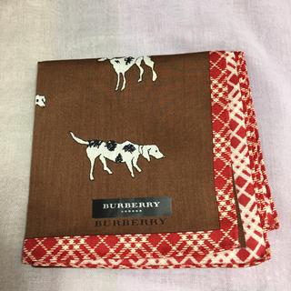 BURBERRY - バーバリー 犬 ハンカチ