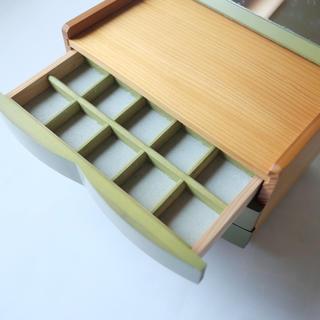 木製 アクセサリーケース 3段(小物入れ)
