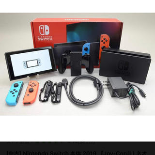 Nintendo Switch - 任天堂スイッチ本体 新型 ネオン