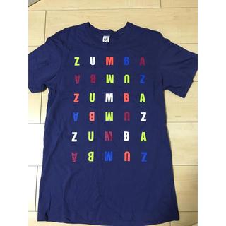 Zumba - 【1回使用】ZUMBA ユニセックス カラフルロゴTシャツ