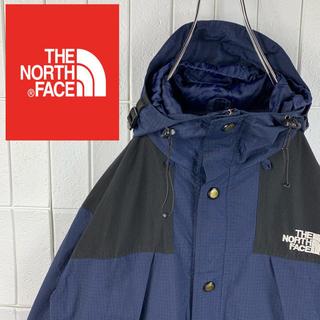 ザノースフェイス(THE NORTH FACE)のノースフェイス レアカラー ゆるだぼ 90s マウンテンパーカー 刺繍ロゴ 人気(マウンテンパーカー)
