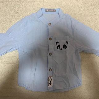 パンダさん シャツ 80〜90cm