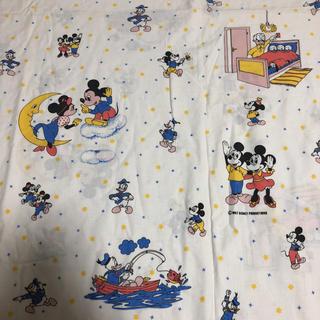 Disney - レア☆ヴィンテージシーツ ミッキー ミニーちゃん