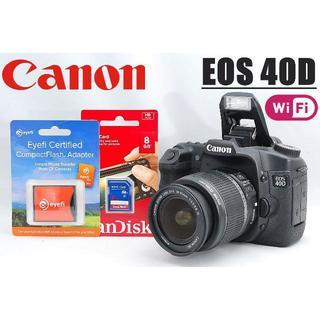 Canon - 人気の中級者向け一眼レフ♪ Wi-Fi対応♪ Canon EOS 40D
