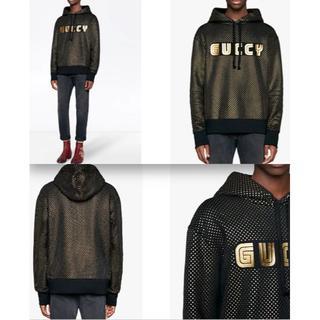 グッチ(Gucci)のGUCCI メンズ パーカー スウェット GUCCY 18aw 18fw(パーカー)