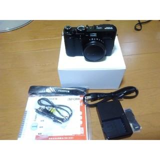 富士フイルム - 美品 FUJIFILM  X100F ブラック