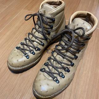 【送料無料】マルモラーダ ブーツ オーストリッチ ジャコメッティ ほぼ新品 41(ブーツ)