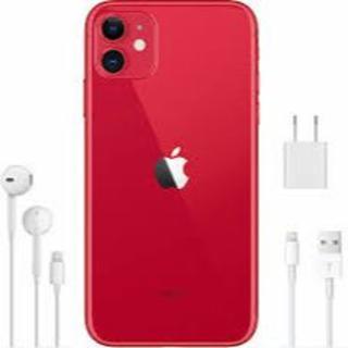 アイフォーン(iPhone)のiPhone11 レッド(スマートフォン本体)