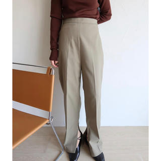 BEAUTY&YOUTH UNITED ARROWS - IIROT   Cotton linen OX slit trourerパンツ