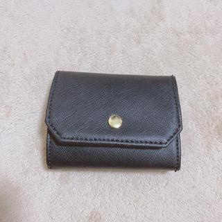 ジーユー(GU)のブラック ミニ財布(財布)