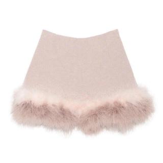 Lily Brown - 美品 ♥  フェザー ショートパンツ ピンク ♥