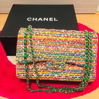 CHANEL - 定価50万超 CHANEL 希少 マルチカラー レインボー バッグ 未使用