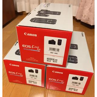 Canon - Canon eos kiss X9i カメラ ダブルズームキット×3台セット