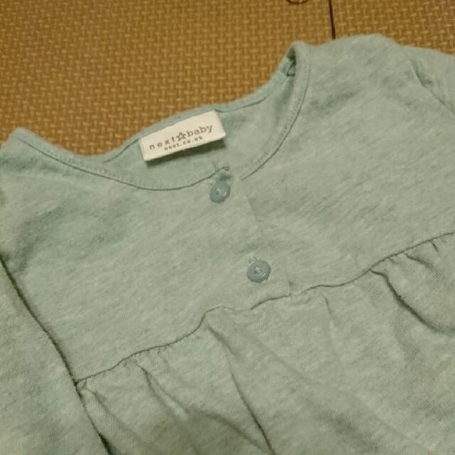 NEXT(ネクスト)のNEXTロンティ うすみどり色 キッズ/ベビー/マタニティのベビー服(~85cm)(シャツ/カットソー)の商品写真