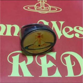 Vivienne Westwood - ヴィヴィアン ウエストウッドの限定リング ビッグエナメルオーヴリング S