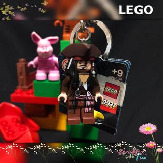 Lego - LEGO ミニフィグ キーチェーン ジャックスパロウ