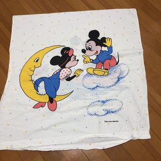 Disney - レア☆ヴィンテージシーツ 枕カバー ミッキー、ミニー