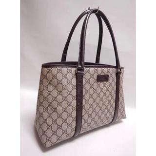 Gucci - 超美品 GUCCI グッチ 鞄 バッグ PVC トートバック GG キャンバス