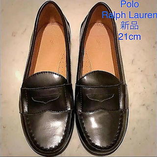 ポロラルフローレン(POLO RALPH LAUREN)のラルフローレン 革靴21cm  未使用(ローファー/革靴)