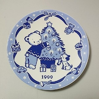 familiar - 非売品☆ファミリア☆絵皿☆クリスマスツリー