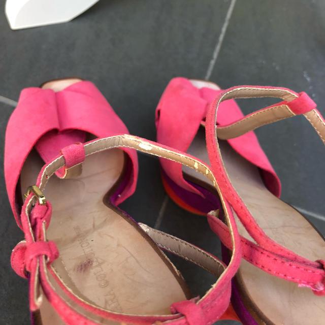パーティー キャバ ダンサー 発表会 ドレス 結婚式 サンダル zara 37 レディースの靴/シューズ(サンダル)の商品写真