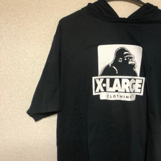 XLARGE - XLARGE フード付きTシャツ