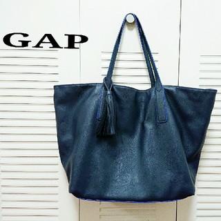 ギャップ(GAP)のGAP タッセル付き トートバッグ レザートートバッグ タッセルバッグ(トートバッグ)