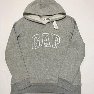 GAP - 新品 定価4900円 ギャップ 裏起毛 ロゴ入り パーカー L レディース