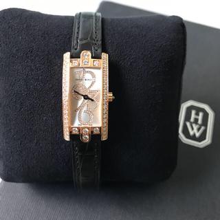 ハリーウィンストン(HARRY WINSTON)のハリー・ウィンストン Harry Winston アヴェニューc ミニ 時計(腕時計)