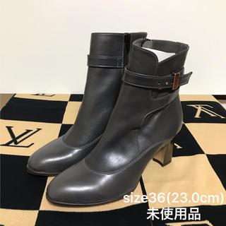 ヒュッテ(HUTTE)のHutte ヒュッテ コンビショートブーツ size23.0cm 新品未使用品(ブーツ)