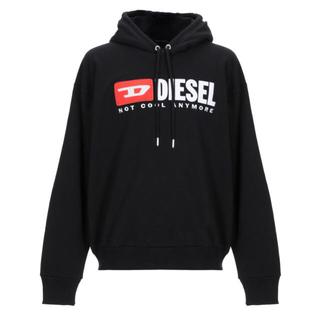 DIESEL - DIESEL ロゴ パーカー メンズ Lサイズ NOT COOL ANYMORE