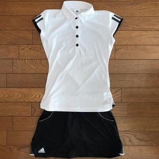 adidas - adidas テニスウェア 上下セット