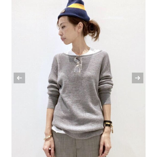 L'Appartement DEUXIEME CLASSE - 2018AW  アパルトモン Thermal Inner Knit